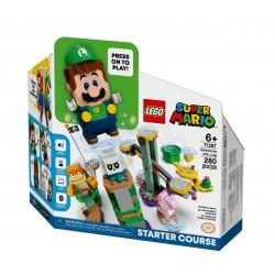 LEGO SUPER MARIO 71387 Przygody z Luigim - Zestaw Startowy