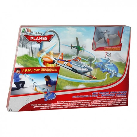 Mattel - Y0996 - Planes - Samoloty - Disney - Zestaw Podniebny Wyścig Dusty