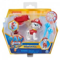 SPIN MASTER Psi Patrol Film Figurka MARSHALL Z WYRZUTNIĄ 0317