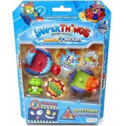 Magic Box Toys Super Zings Super Things ZESTAW 4 FIGURKI + 2 POJAZDY POWER JETS 14950