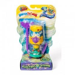 Magic Box Toys Super Zings Super Things Seria 7 BATTLE SPINNER ELECTRIC STORM żółty figurka 15377