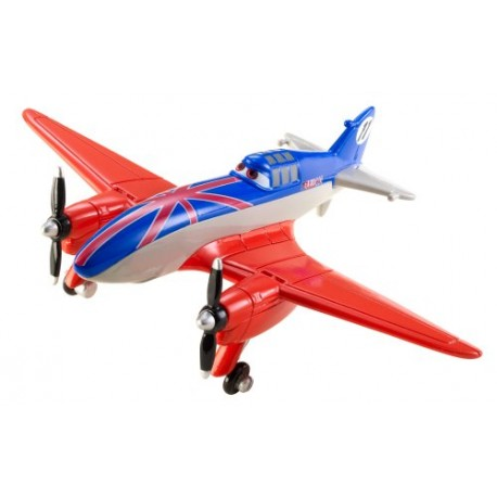 Mattel - X9459 - Planes - Samoloty - Disney - Figurka Bulldog