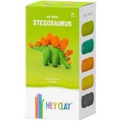 HEY CLAY Masa Plastyczna ZESTAW STEGOZAUR 41102
