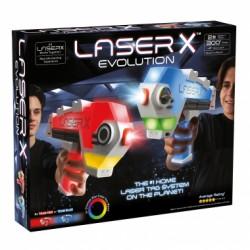 LASER X EVOLUTION Laserowe pistolety BLASTERY EVOLUTION Zestaw podwójny LAS88908