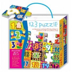 RUSSELL 3252 - Układanka - Puzzle Piankowe z Cyferkami 24 el.- Puzzle 123