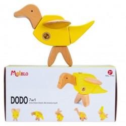 MALBLO ECO Drewniane Klocki DODO 7w1 7745