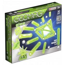 GEOMAG GLOW Klocki Magnetyczne 30 Elementów 3+ 3359