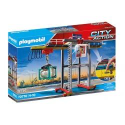 PLAYMOBIL City Action 70770 SUWNICA Z KONTENERAMI