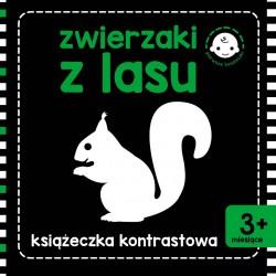 Skrzat Książeczki dla Dzieci KSIĄŻECZKA KONTRASTOWA Zwierzaki z Lasu 9390