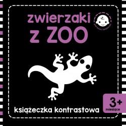 Skrzat Książeczki dla Dzieci KSIĄŻECZKA KONTRASTOWA Zwierzaki z Zoo 8454