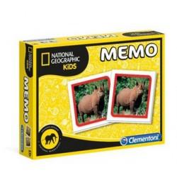 Clementoni Memo Gra Memory Nathional Geographic Zwierzęta 18093
