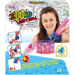 FORMATEX 155257 - Zestaw do Rysowania IDO 3D Vertical - 4 Długopisy - Design Studio