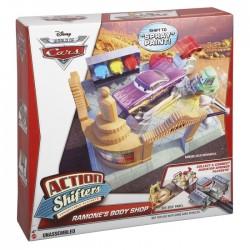 Mattel - BDF62 - Disney Pixar - Cars 2 - Chłodnica Górska - Salon Lakierniczy Romana