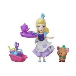 Hasbro B5333 - Disney Princess - Mini Laleczka z Przyjacielem i Akcesoriami - KOPCIUSZEK