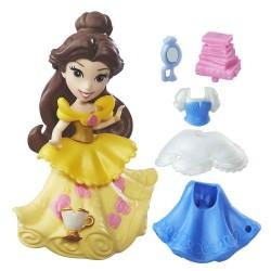 Hasbro B7157 - Disney Princess - Mini Laleczka z Akcesoriami - BELLA
