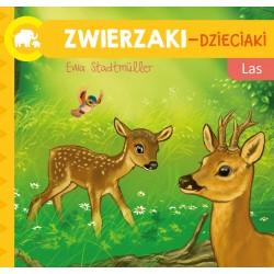 Skrzat Książeczki dla Dzieci Książeczka do Czytania ZWIERZAKI-DZIECIAKI Las 7297