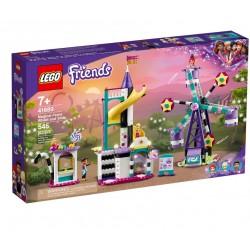 KLOCKI LEGO FRIENDS Magiczny diabelski młyn i zjeżdżalnia 41689