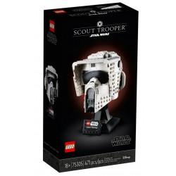 KLOCKI LEGO STAR WARS Hełm zwiadowcy szturmowców 75305