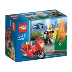 LEGO CITY 60000 Motocykl Komendanta