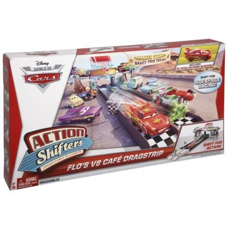 Mattel - BDF61- Cars 2 - Auta 2 - Chłodnica Górska - Wyścigi w Kawiarni Flo