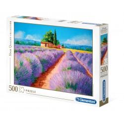 CLEMENTONI Układanka Puzzle 500 Elementów High Quality Collection LAWENDOWY ZAPACH 35073
