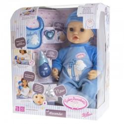 ZAPF CREATION Baby Annabell Interaktywna Lalka Chłopiec ALEXANDER + AKCESORIA 116719