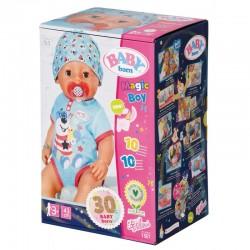 ZAPF CREATION BABY BORN Interaktywna Lalka Bobas MAGICZNY CHŁOPIEC 827963