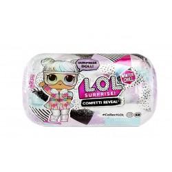 L.O.L SURPRISE Confetti Reveal WINTER CHILL Laleczka + Akcesoria 576600