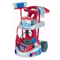 KLEIN Vileda Junior Wózek do Sprzątania + Akcesoria 6721