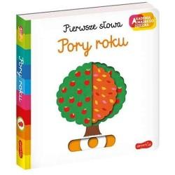 HarperCollins Akademia Mądrego Dziecka Pierwsze Słowa PORY ROKU 660053