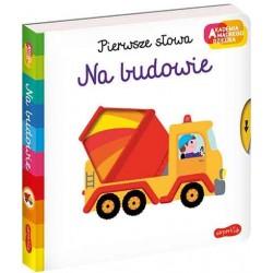 HarperCollins Akademia Mądrego Dziecka Pierwsze Słowa NA BUDOWIE 660022