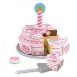 Melissa & Doug - 14069 - Piętrowy Tort Urodzinowy