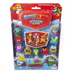 Magic Box Toys Super Zings Super Things Seria 8 ZESTAW 10 FIGUREK 16282