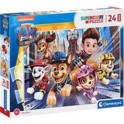 CLEMENTONI Układanka Puzzle Maxi 24 Elementy SuperColor PSI PATROL 24222