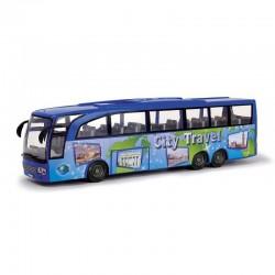 DICKIE TOYS Autobus Turystyczny BEACH TRAVEL CITY TRAVEL 5005