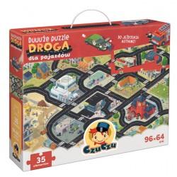 CzuCzu Duuuże Puzzle Droga dla Pojazdów Układanka 491613