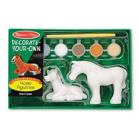 Melissa & Doug - 14244 - Farbki - Konie do Malowania