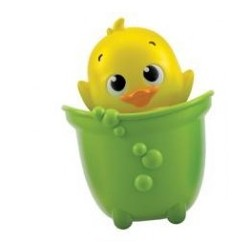 Clementoni Zabawka do wody zielona Zwierzaki Wodniaki KACZUSZKA 17655