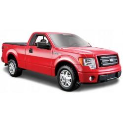 MAISTO Metalowy Pojazd Model Auta Skala 1:27 FORD F-150 STX Czerwony 31270