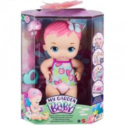 MATTEL My Garden Baby Lalka Bobas BOBASEK-MOTYLEK KARMIENIE I PRZEWIJANIE różowy GYP10