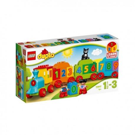 LEGO DUPLO 10847 Pociąg z Cyferkami NOWOŚĆ 2017