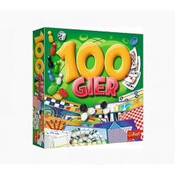 Trefl Gra Planszowa Zestaw 100 Gier 02117