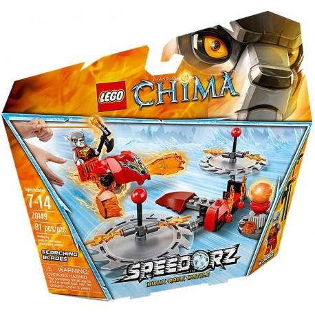 LEGO CHIMA 70149 Ogniste Ostrza