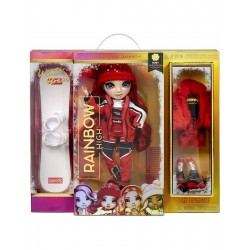 RAINBOW HIGH WINTER BREAK Modna Lalka Ruby Anderson + Akcesoria Seria 1 574286