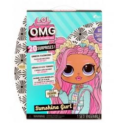 LOL Surprises OMG Zestaw lalka i akcesoria Core Doll SUNSHINE GURL 572787