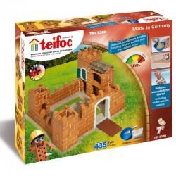 TEIFOC Budowle z cegiełek Duży zamek 3200