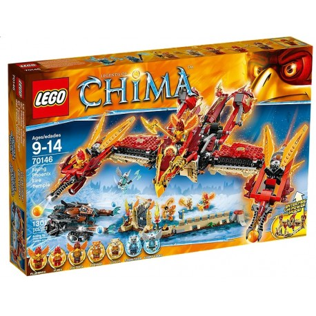 LEGO CHIMA 70146 Ognista Świątynia Feniksa