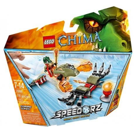 LEGO CHIMA 70150 Płonące Pazury