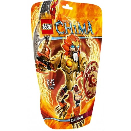 LEGO CHIMA 70206 Ognisty Chi Laval