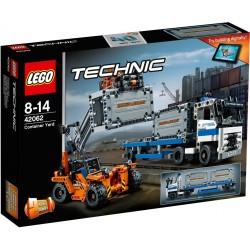 """LEGO TECHNIC 42062 Plac Przeładunkowy """"2 w 1"""" Wózek Bramowy NOWOŚĆ 2017"""